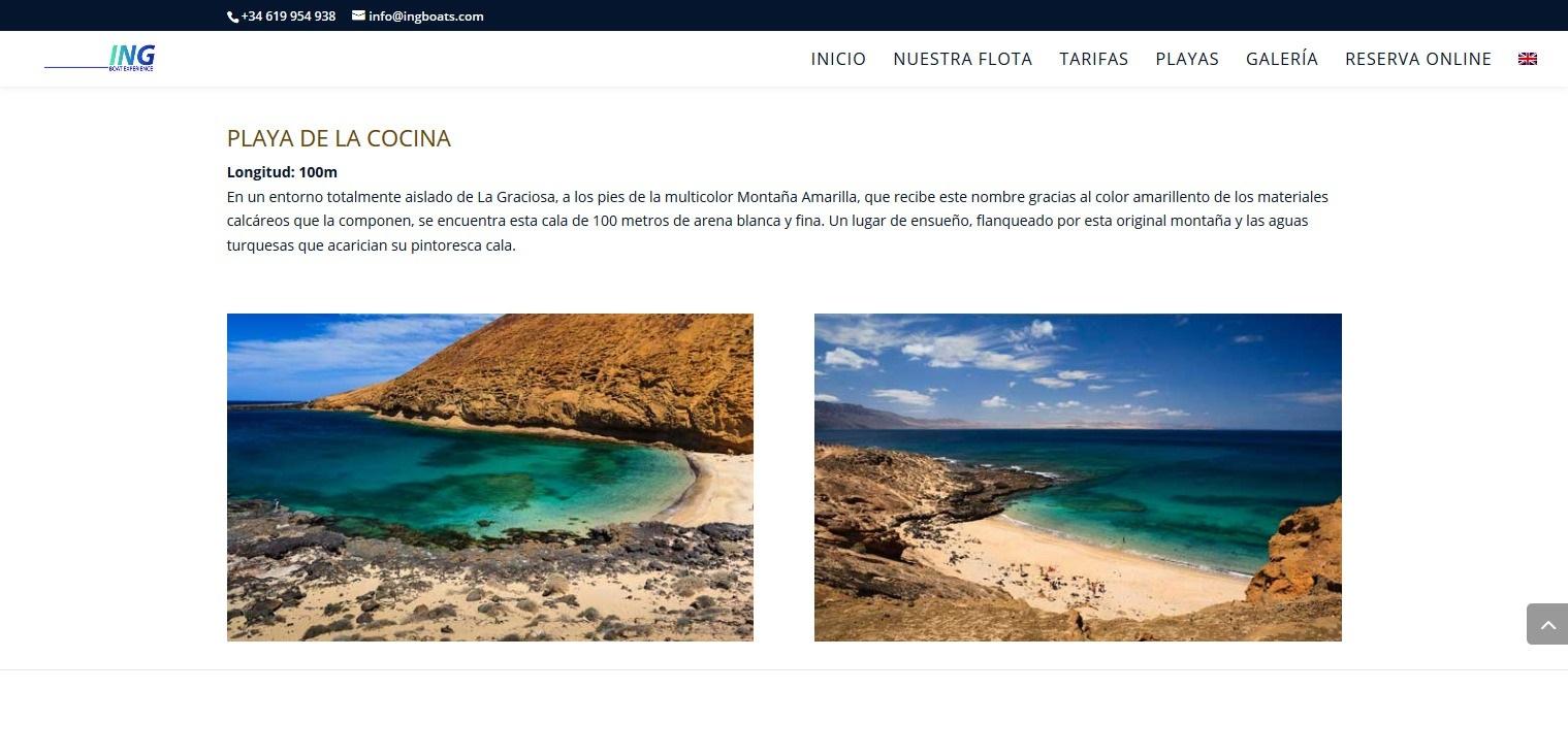 descripcion playas