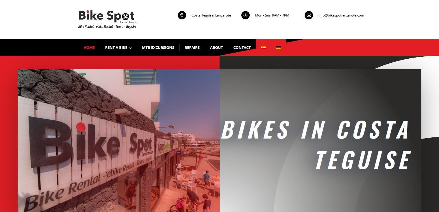 Bike Spot Lanzarote Rent a bike in Costa Teguise Lanzarote