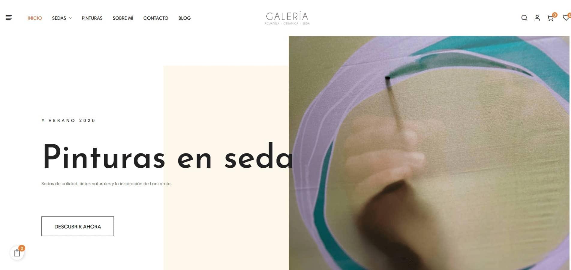 Tienda online de artsesania en Lanzarote